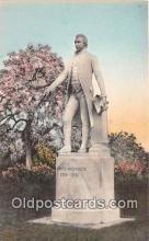 Statue of President Monroe