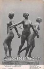 sta001128 - Statue Postcard