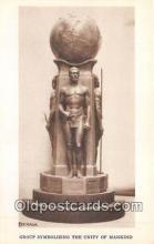 sta001154 - Statue Postcard