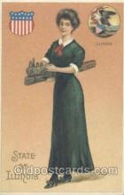 stg001003 - Illinois, USAState Girl Postcard Postcards