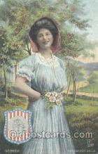 stg003011 - Georgia, USA State Girl Postcard Postcards