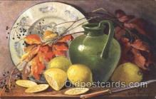 stl001001 - Artist Golay Still Life Postcard Postcards