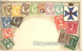 stp001004 - Stamps on Postcards