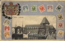stp001006 - Stamps on Postcards