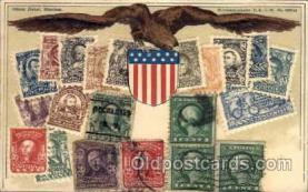 stp001008 - Stamps on Postcards