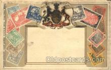stp001017 - Embossed Germany Stamp on Postcard Postcards