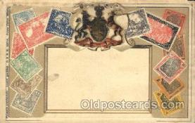 stp001017 - Embossed Germany Stamp on Postcard Postcards