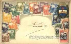 stp001019 - Embossed Argentina Stamp on Postcard Postcards