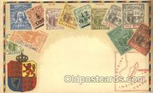 stp001023 - Mauritius Stamp on Postcard Postcards