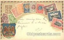 stp001028 - Embossed Mexico Stamp on Postcard Postcards