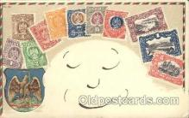 stp001029 - Series no. 30 Stamp, Stamps Postcard Postcards