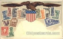stp001030 - D.R.G.M. No.222744 Stamp, Stamps Postcard Postcards