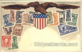 stp001030 - D.R.G.M. No.222744 Stamp, Stamps Postcard Postcards