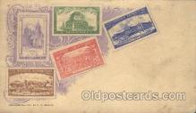 stp001031 - F.A. Busch Stamp, Stamps Postcard Postcards