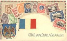 stp001032 - Series no. 30 Stamp, Stamps Postcard Postcards