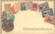 stp001033 - Series no. 30 Stamp, Stamps Postcard Postcards