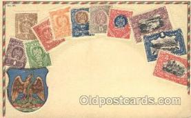 stp001033 - Series no. 30 Stamp, Stamps Postcard Postcards