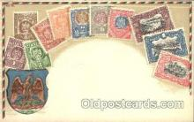 stp001034 - Series no. 30 Stamp, Stamps Postcard Postcards