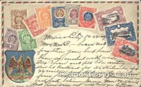 stp001035 - Series no. 30 Stamp, Stamps Postcard Postcards