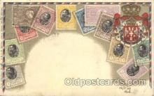 stp001036 - D.R.G.M. No.222744 Stamp, Stamps Postcard Postcards