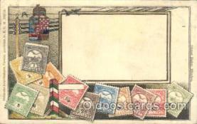stp001037 - D.R.G.M. No.222744 Stamp, Stamps Postcard Postcards