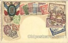 stp001038 - D.R.G.M. No.222744 Stamp, Stamps Postcard Postcards