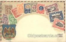 stp001039 - Series no. 30 Stamp, Stamps Postcard Postcards