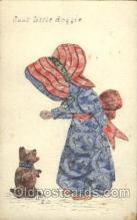stp001043 - Dgood Little Doggie Stamp, Stamps Postcard Postcards