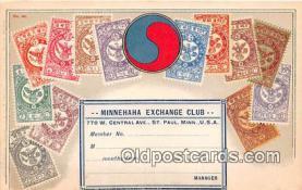 stp001052 - Minnehaha Exchange Club St Paul, Minnesota, USA Postcard Post Card