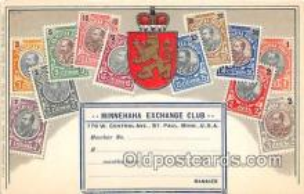 stp001053 - Minnehaha Exchange Club St Paul, Minnesota, USA Postcard Post Card