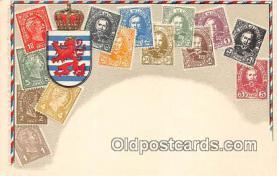 stp001054 - Grand Duche de Luxembourg Postcard Post Card