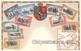 stp001056 - Romania Postcard Post Card