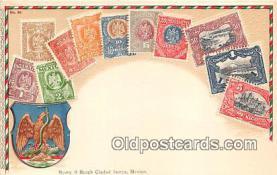 stp001058 - Correos, Mexico Postcard Post Card