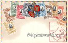stp001062 - Romania Rumanien Postcard Post Card