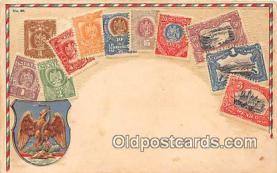 stp001072 - Correos, Mexico Postcard Post Card