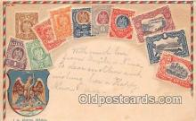 stp001073 - Correos, Mexico Postcard Post Card