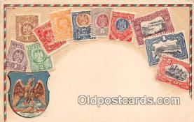 stp001074 - Correos, Mexico Postcard Post Card