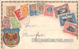stp001075 - Correos, Mexico Postcard Post Card