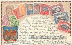 stp001076 - Correos, Mexico Postcard Post Card