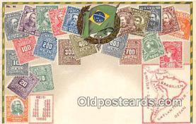 stp001091 - Brasilien Postcard Post Card