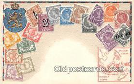 stp001125 - Niederlandisch Indien Postcard Post Card