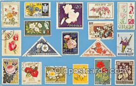 stp001178 - Flowers  Postcard Post Card