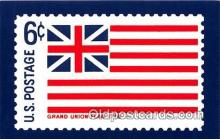 stp001187 - Grand Union Flag 1776  Postcard Post Card