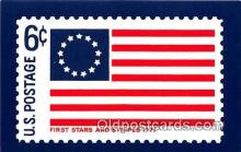 stp001191 - First Stars & Stripes 1777  Postcard Post Card