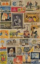 stp001209 - Stamps of the World  Postcard Post Card