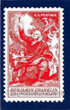 stp001210 - Benjamin Franklin 250th Anniversary America Postcard Post Card
