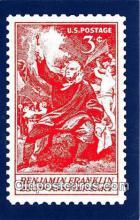 stp001211 - Benjamin Franklin 250th Anniversary America Postcard Post Card