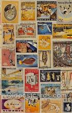 stp001212 - Stamps of the World  Postcard Post Card
