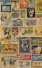 stp001213 - Stamps of the World  Postcard Post Card