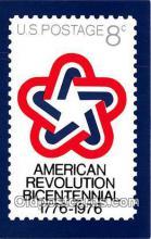 stp001214 - American Revolution Bicentennial 1776-1976  Postcard Post Card